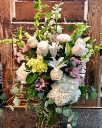 Exquisite Whites & Greens  from Martha Mae's Floral & Gifts in McDonough, GA